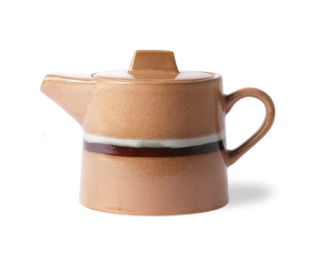 Hk Living 70s ceramics: tea pot, stream