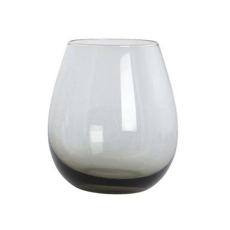 House Doctor | Ball glas | smoked grey